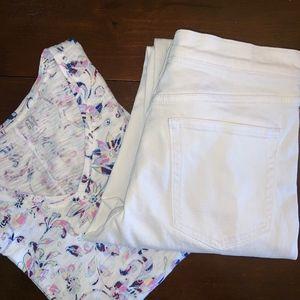 Gap T-Shirt and Best Girlfriend Jeans Lot NWOT
